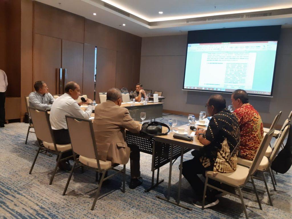 Rapat Pembahasan Pemberian Bantuan Kepada PMI